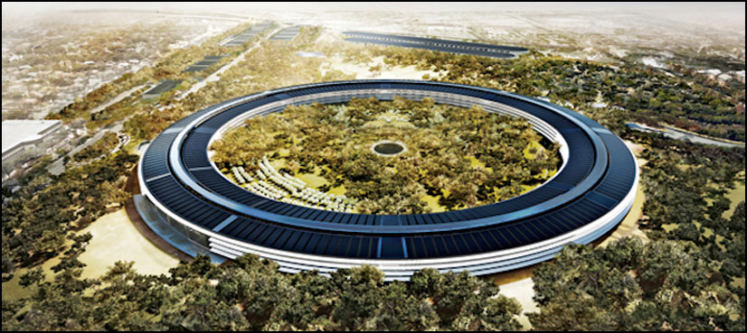 ایپل کا نیا ماحول دوست دفتر