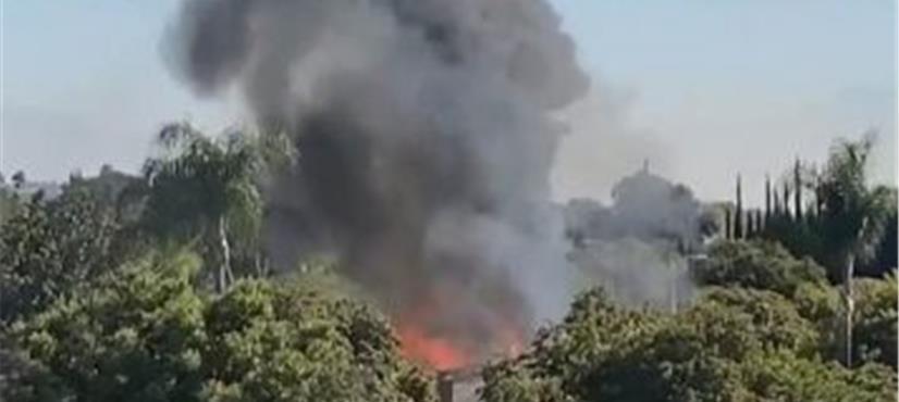 امریکا، چھوٹا طیارہ گھر پر گر کر تباہ، پائلٹ ہلاک