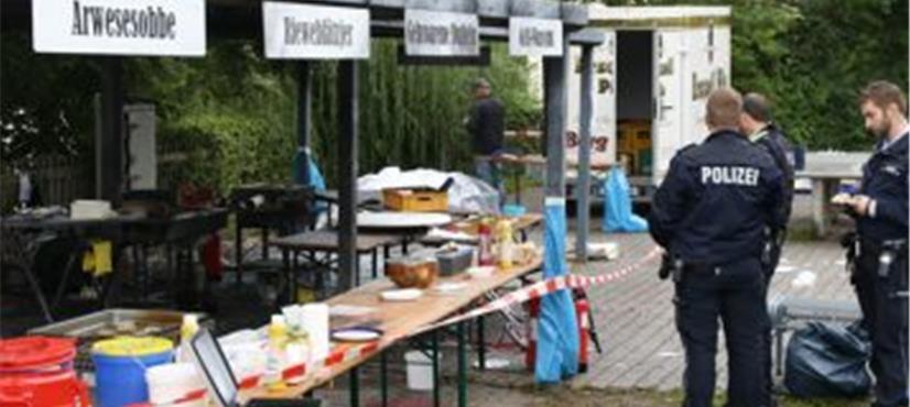 جرمنی میں فوڈ فیسٹیول، فرائنگ پین پھٹنے سے خاتون ہلاک