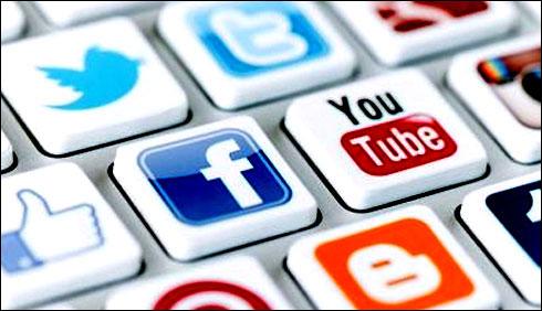 لوگ یومیہ 109منٹ یعنی ایک گھنٹہ49منٹ سوشل میڈیا کی مختلف سائٹوں پر وقت صرف کرتے ہی