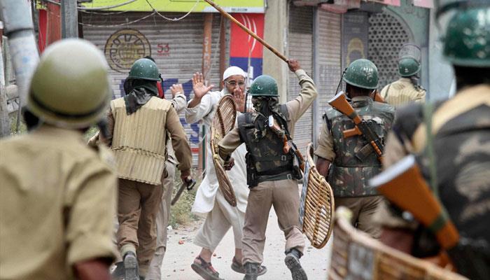 مقبوضہ کشمیر میں کرفیو کا 44 واں روز