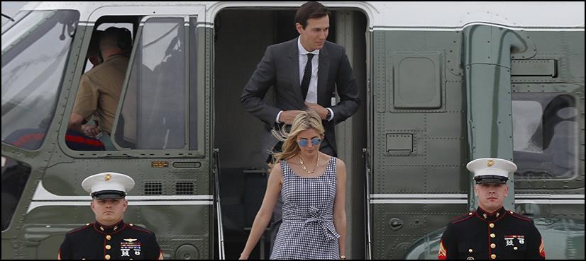 امریکی صدرکی بیٹی ایوانکا ہیلی کاپٹر حادثے میں بال بال بچ گئیں