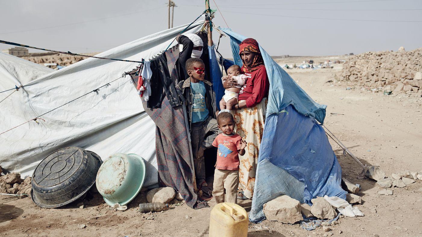 یمن : 13 لاکھ یمنی بچوں کی زندگی خطرے میں !
