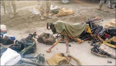کوئٹہ :24 مشتبہ افرادزیرحراست، اسلحہ برآمد