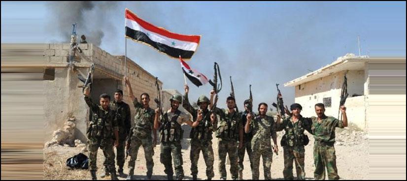 شامی افواج کا داعش کو ہتھیار پھینکنے پر محفوظ راستہ دینے کا اعلان