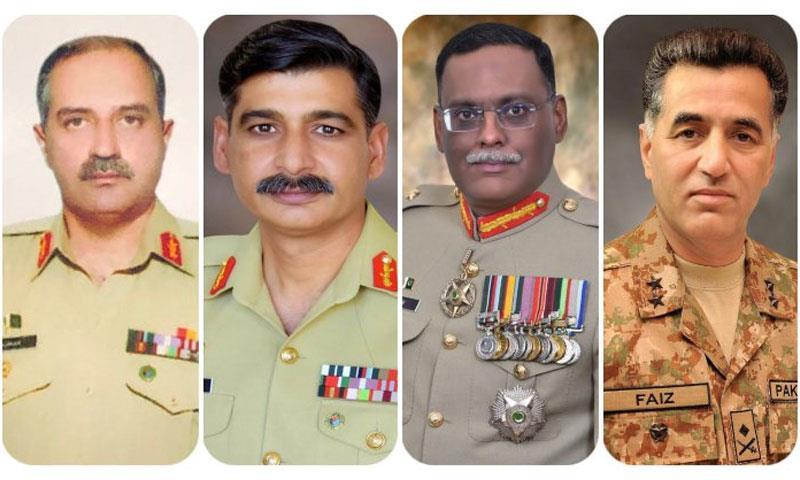 پاک فوج کے 4 میجر جنرلز کی لیفٹیننٹ جنرلز کے عہدے پر ترقی