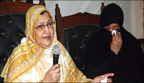 میرے بیٹوں کو انصاف فراہم کیا جائے،والدہ سعید بھرم