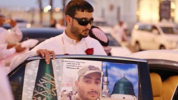 مسجد نبوی کے دفاع میں بینائی کھو دینے والا سعودی سپاہی!