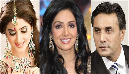 دو پاکستانی اداکار وں کی سری دیوی کے ساتھ پہلی بالی وڈ فلم