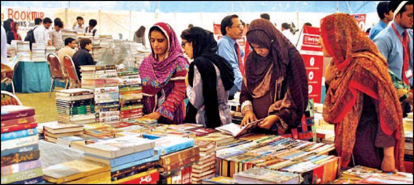 کراچی میں 12 ویں عالمی کتب میلے کا آغاز