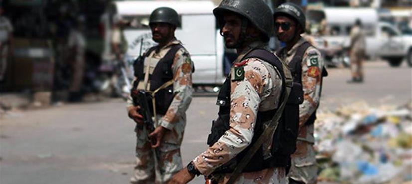 کراچی، رینجرز کی مختلف علاقوں میں کارروائیاں، 16 ملزمان گرفتار