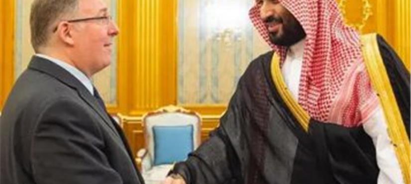 پروٹسٹنٹ چرچ کے نمائندہ وفد کی جدہ میں سعودی ولی عہد سے…