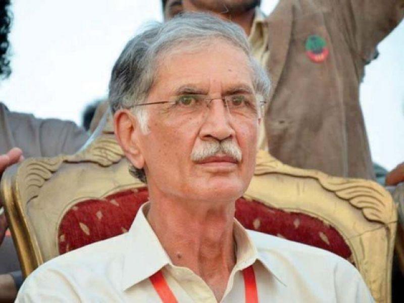 کرپشن کے الزام لگانے والے ثبوت سامنے لائیں سیاست چھوڑ دوں گا :پرویز خٹک