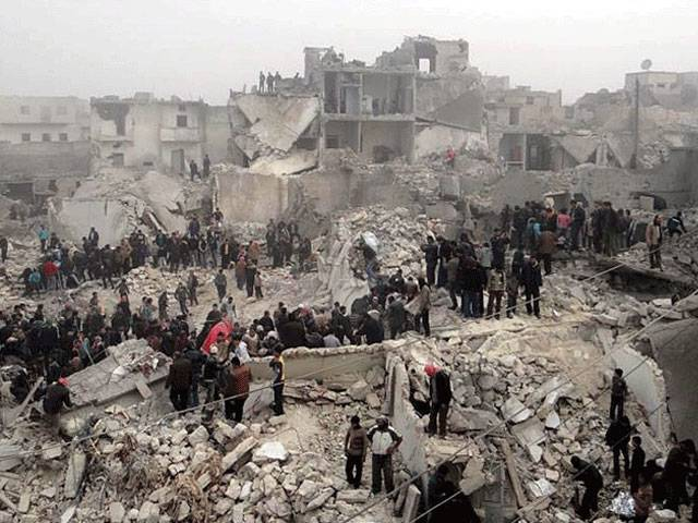 شام میں جنگ بندی کے اعلان کے باوجود فضائی حملوں میں 105 افراد ہلاک، درجنوں زخمی