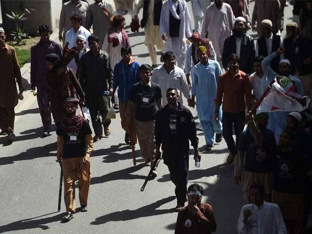 اسلام آباد انتظامیہ کا ڈی چوک خالی کرنے کیلیے مظاہرین کو 2 گھنٹے کا الٹی میٹم