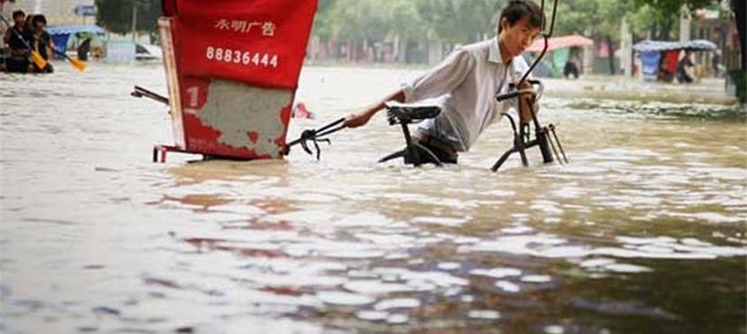 چین میں سیلاب نے تباہی مچادی، 9 افراد ہلاک، درجنوں لاپتہ