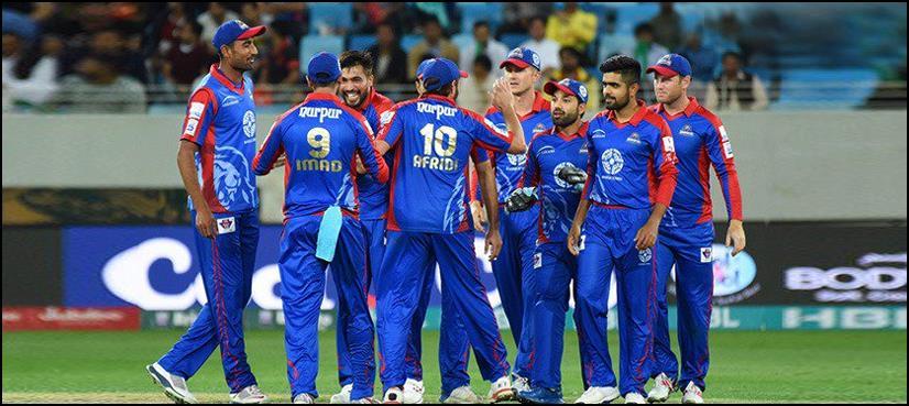 کراچی کنگزکی ٹیم دبئی سےلاہورپہنچ گئی