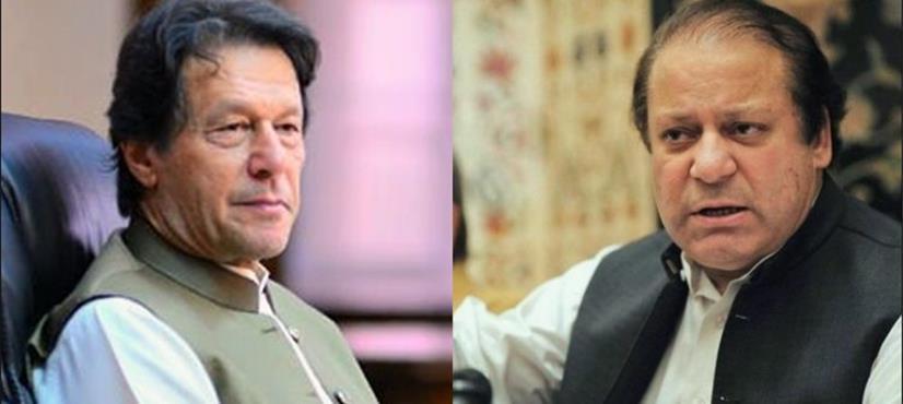 عمران خان نے پی ٹی آئی رہنماؤں کو نواز شریف کی صحت پر بیان بازی سے روک دیا