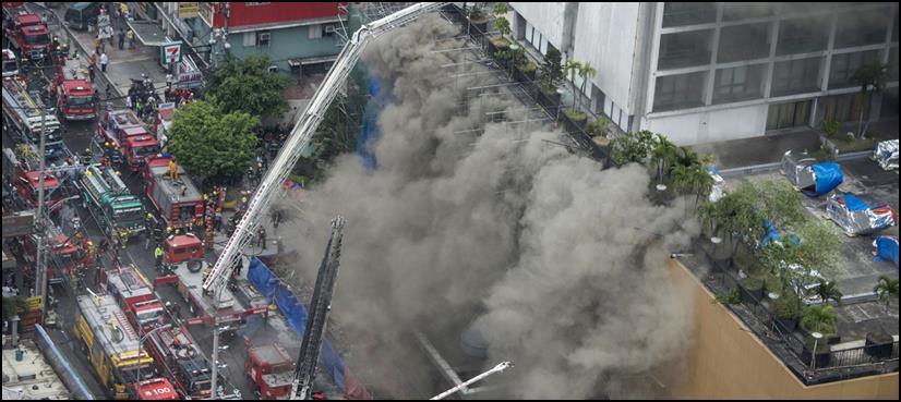 فلپائن : ہوٹل میں خوفناک آتشزدگی،4 افراد جھلس کرہلاک، 6 زخمی
