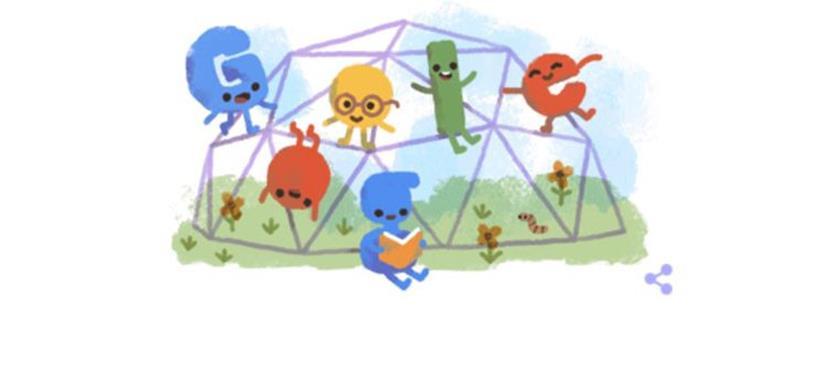 بچوں کا عالمی دن آج منایا جارہا ہے، گوگل کا ڈوڈل بھی پھولوں کے نام