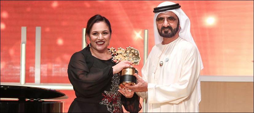 برطانوی خاتون نے دنیا کے بہترین استاد کا ایوارڈ اپنے نام کرلیا