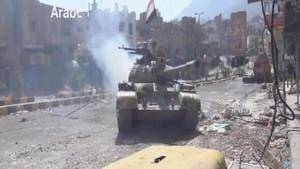 یمنی شہر تعزمیں حکومت نواز فورسزکی پیش قدمی