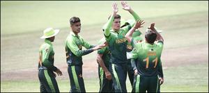 انڈر19کرکٹ ورلڈ کپ: پاکستان نےآئرلینڈ کو9 وکٹوں سےشکست دےدی