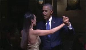 امریکی صدر اوباما کا ارجنٹائن میں ٹینگو ڈانس
