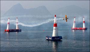 ابوظہبی میںریڈ بل ائیر ریس فرانسیسی پائلٹ نے جیت لی