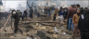 شام میں کار بم دھماکہ،48افراد ہلاک
