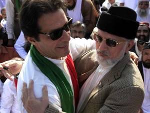 دھرنے کے دوران دفعہ 144 کی خلاف ورزی،عمران خان اور طاہرالقادری کے دوبارہ وارنٹ گرفتاری جاری