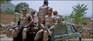 آپریشن ردالفساد: متعدد دہشت گرد گرفتار، بھاری تعداد میں اسلحہ برآمد