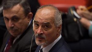 اقوام متحدہ میں شامی ایلچی نے کیا صریح جھوٹ بولا؟