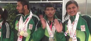 ورلڈ ونٹر گیمز: پاکستان اسپیشل اولمپکس کے کھلاڑی 16 میڈلز جیت کر وطن پہنچ گئے