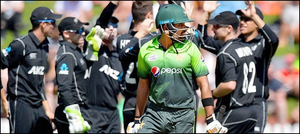 نیوزی لینڈ نے پاکستان کوون ڈےسیریزمیں شکست دے دی