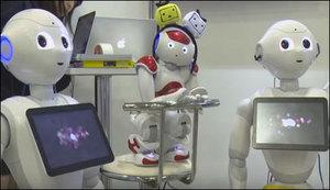 انسانی جذبات اورموڈ کو سمجھنے والا جدید فرینڈلی روبوٹ