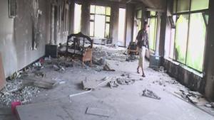 'العربیہ' کیمرہ ٹیم کی عبداللہ صالح کے گھر میں فلم بندی