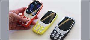 نوکیا 3310 موبائل فون سترہ سال بعد دوبارہ متعارف