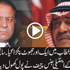 -دیکھئے وزیر اعظم نواز شریف نے خطاب کرتے ہوئے کیا کیا غلطیاں کریں