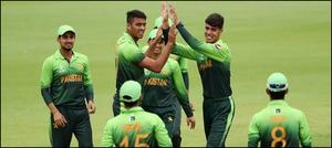 انڈر19کرکٹ ورلڈ کپ: پاکستان نےسری لنکا کو3 وکٹوں سےشکست دےدی