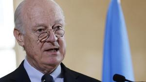 شام امن مذاکرات 24 مارچ تک جاری رہیں گے: یو این ایلچی