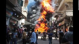 پوری امت مسلمہ کی جانب سے مدد نہ ملنے پر شام کے شہریوں نے ایسا طریقہ اپنا لیاکہ جان کر آپ کی آنکھوں سے بھی آنسو جاری ہو جائیں گے،انسانیت کے علمبرداروں کو آئینہ دکھادیا