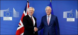 برطانیہ اور یورپی یونین کےدرمیان بریگزٹ پرعمل درآمد کا معاہدہ طےپاگیا